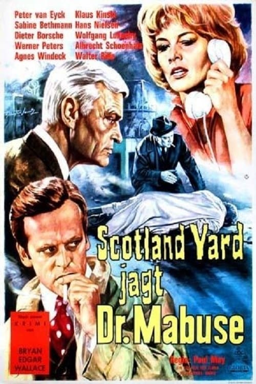 Largescale poster for Scotland Yard jagt Dr. Mabuse