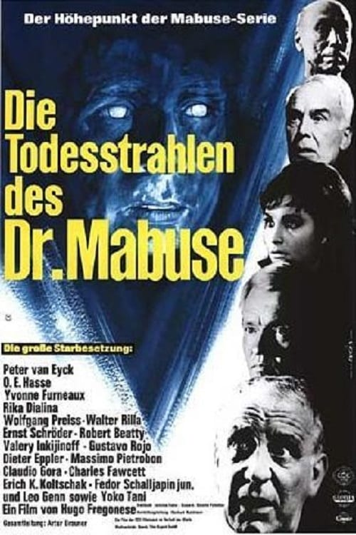 Mira La Película Die Todesstrahlen des Dr. Mabuse Gratis En Línea