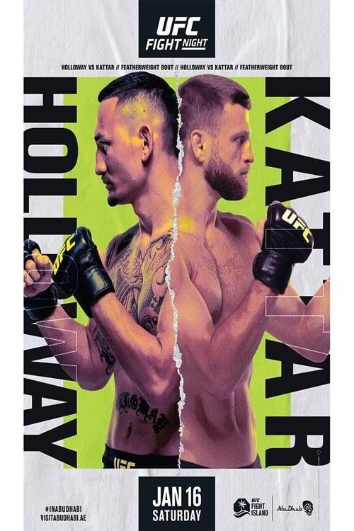 UFC on ABC 1: Holloway vs. Kattar