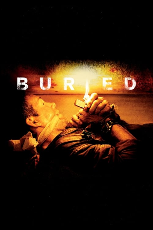 Poster for the movie, 'Buried'