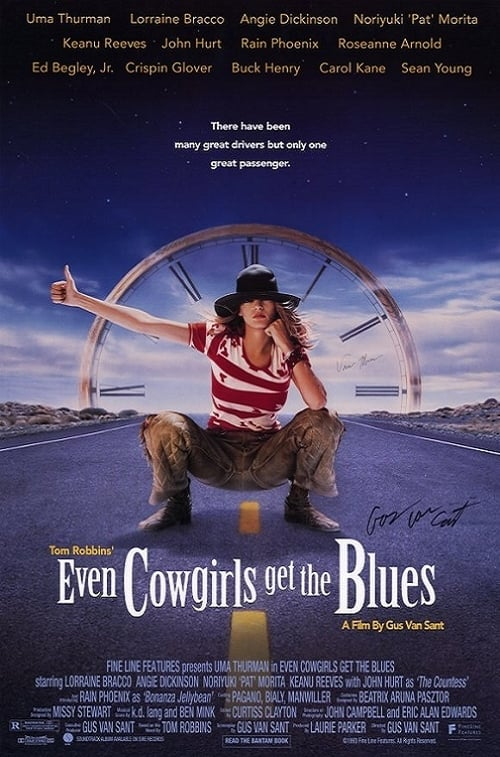 Even Cowgirls Get the Blues - Poster