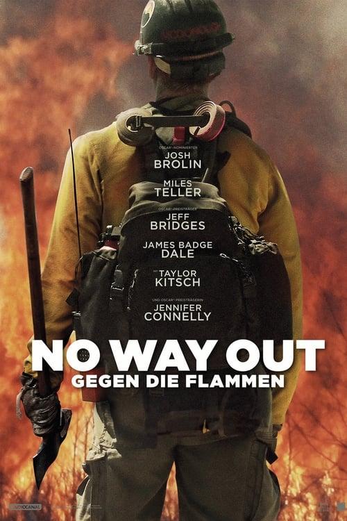 Poster von No Way Out - Gegen die Flammen