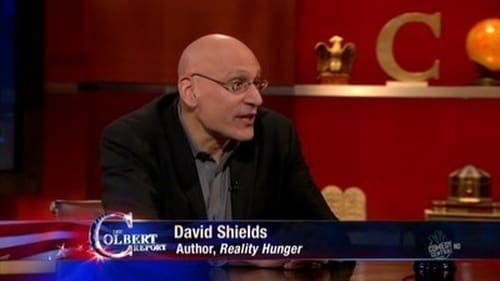 The Colbert Report 2010 Blueray: Season 6 – Episode David Shields