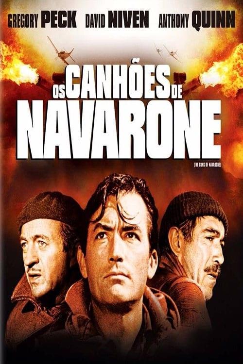 Assistir Os Canhões de Navarone - HD 720p Dublado Online Grátis HD