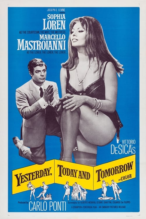 Streaming Yesterday, Today and Tomorrow (1963) Best Quality Movie