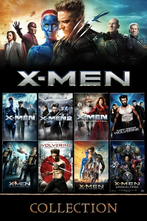 Люди Икс (Коллекция) / X-Men. The Complete Collection / 2000-2019 / ДБ, СТ / BDRip (720p)