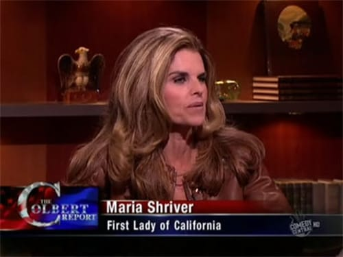 The Colbert Report: Season 5 – Episod Maria Shriver