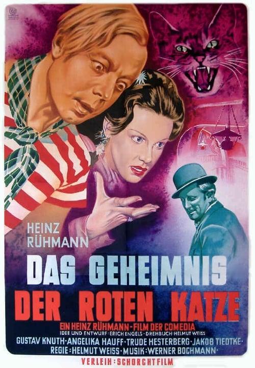 Largescale poster for Das Geheimnis der roten Katze