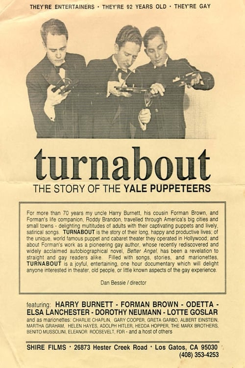 Turnabout: The Story of the Yale Puppeteers (1993)