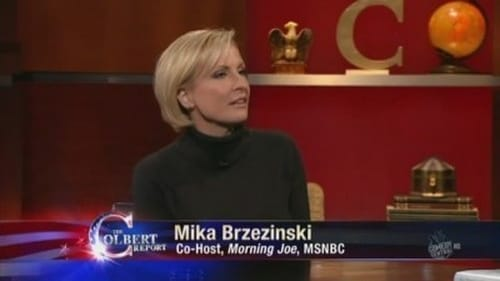 The Colbert Report 2010 Blueray: Season 6 – Episode Mika Brzezinski