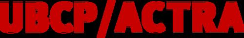 UBCP/ACTRA                                                              Logo
