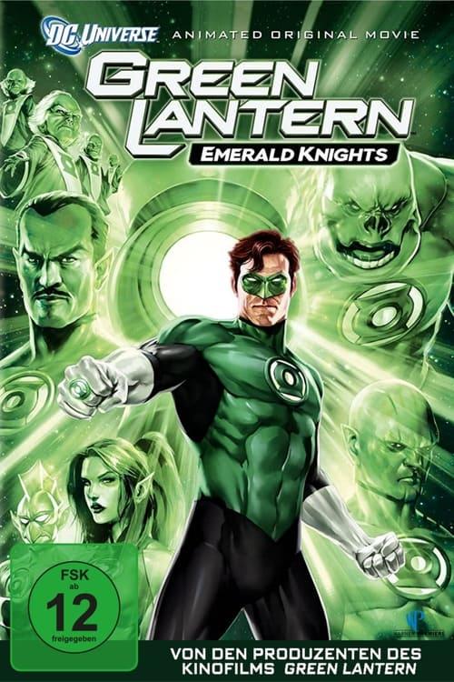 Green Lantern - Emerald Knights - Action / 2011 / ab 12 Jahre