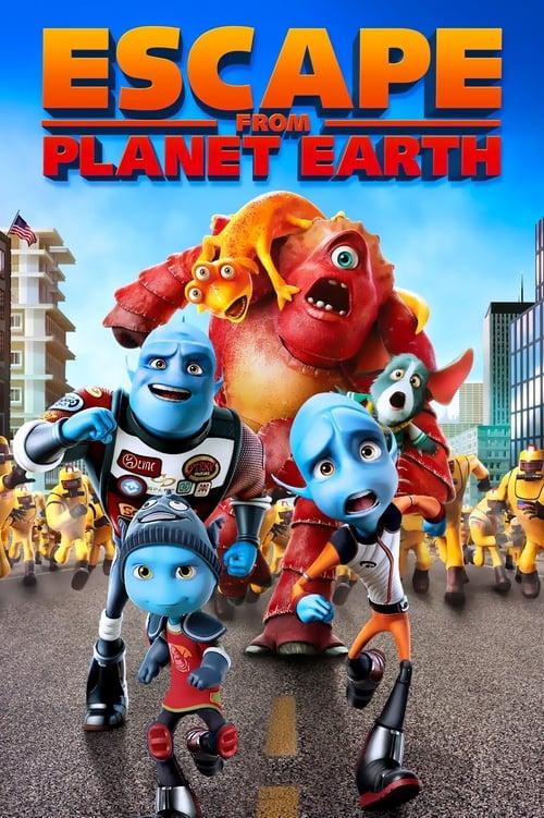 Escape from Planet Earth film en streaming