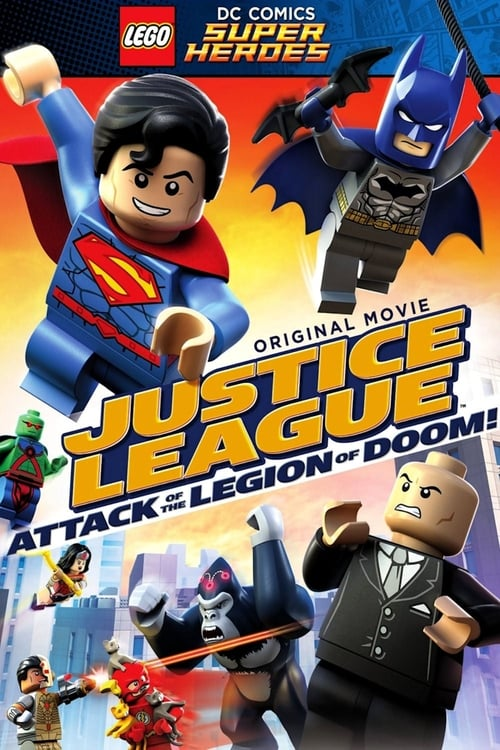 Largescale poster for Lego DC Comics Super Heroes: Justice League  Attack of the Legion of Doom!