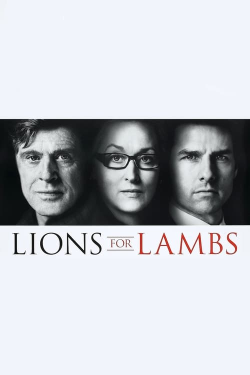 Watch Lions for Lambs (2007) Full Movie