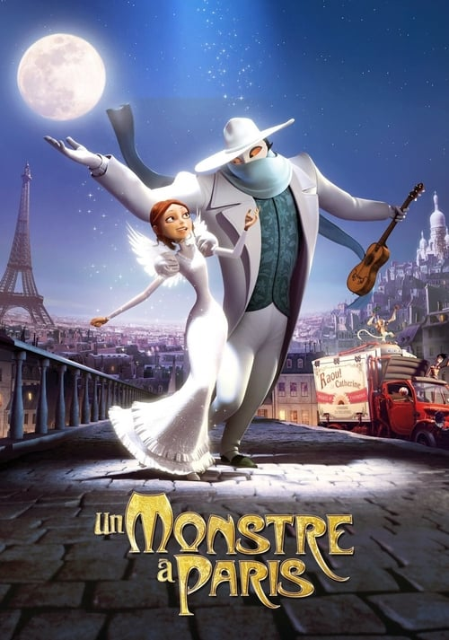 Streaming A Monster in Paris (2011) Best Quality Movie