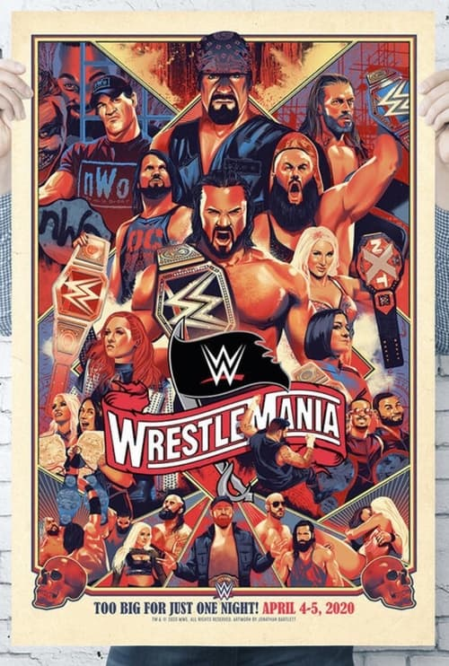 Watch WWE WrestleMania 37 (Night 1) Online Christiantimes