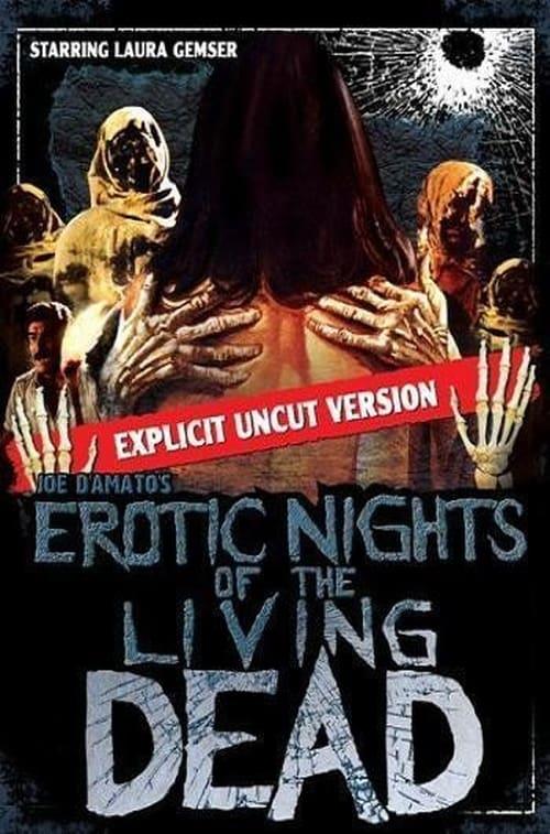 Le notti erotiche dei morti viventi poster