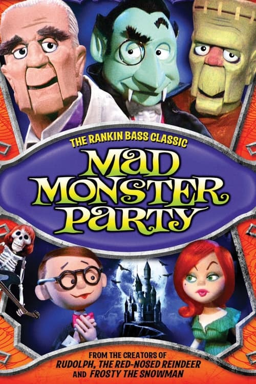 Mad Monster Party? (1967) Poster