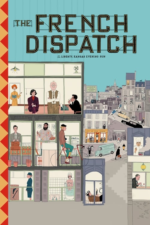 Streaming The French Dispatch (2020) Best Quality Movie