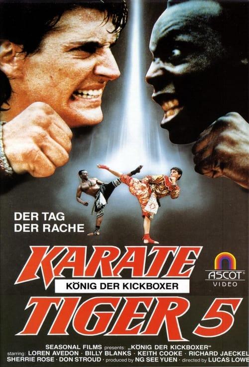 Karate Tiger 5 - König der Kickboxer - Poster