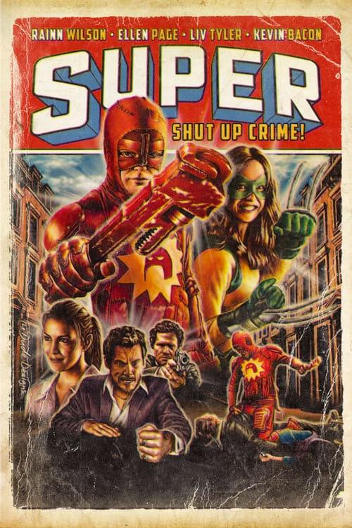 Super - Shut Up, Crime! - Poster