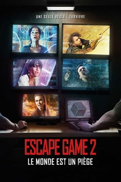 Les Sous-titres Escape Game 2 : Le monde est un piège (2021) dans Français Téléchargement Gratuit