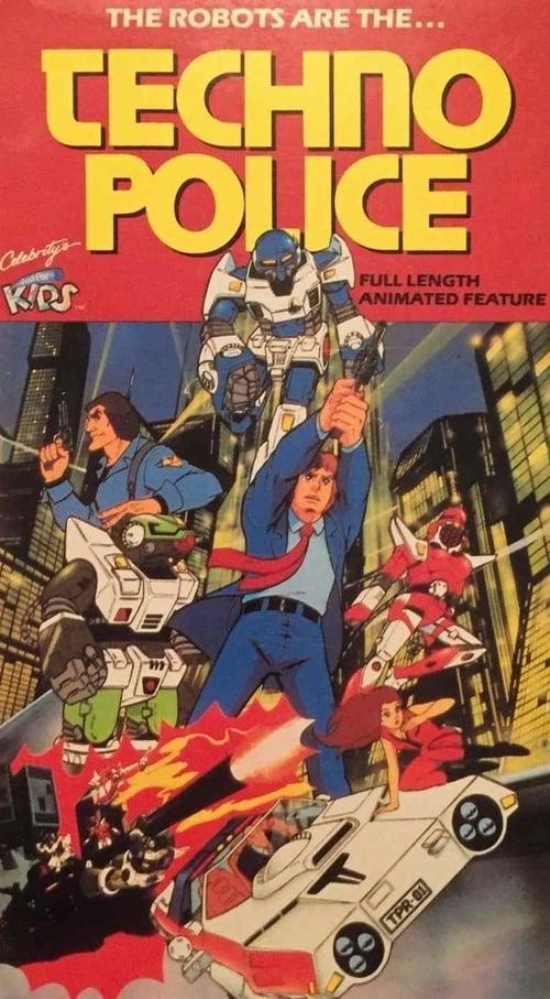 Techno Police 21C (1982) Poster