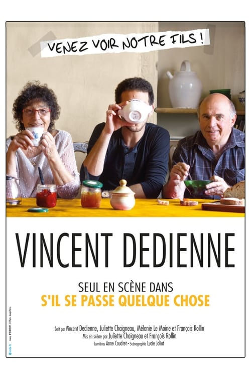 Vincent Dedienne - S'il se passe quelque chose