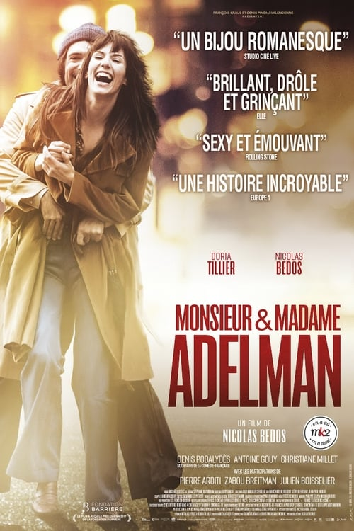 Regardez $ Monsieur & Madame Adelman Film en Streaming VOSTFR