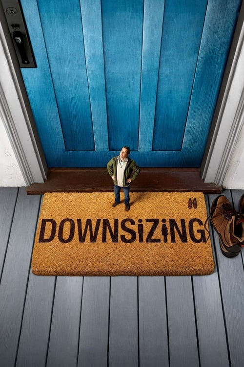 Poster. Downsizing (2017)