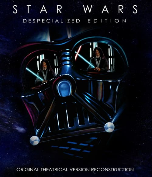 Largescale poster for Star Wars: Episode IV - A New Hope - Despecialized Edition