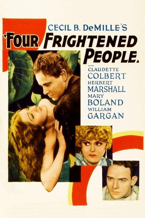 Mira La Película Four Frightened People Gratis En Línea