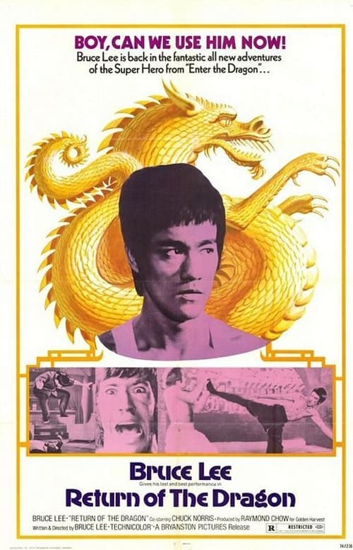Largescale poster for Return of the Dragon