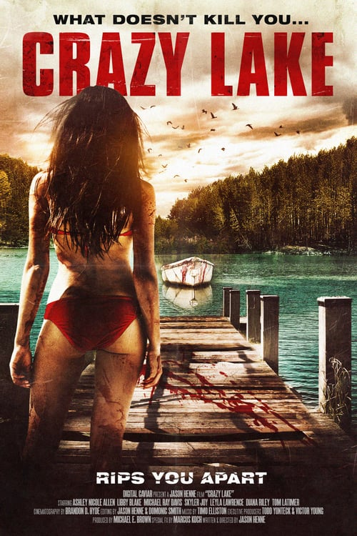 The poster of Crazy Lake