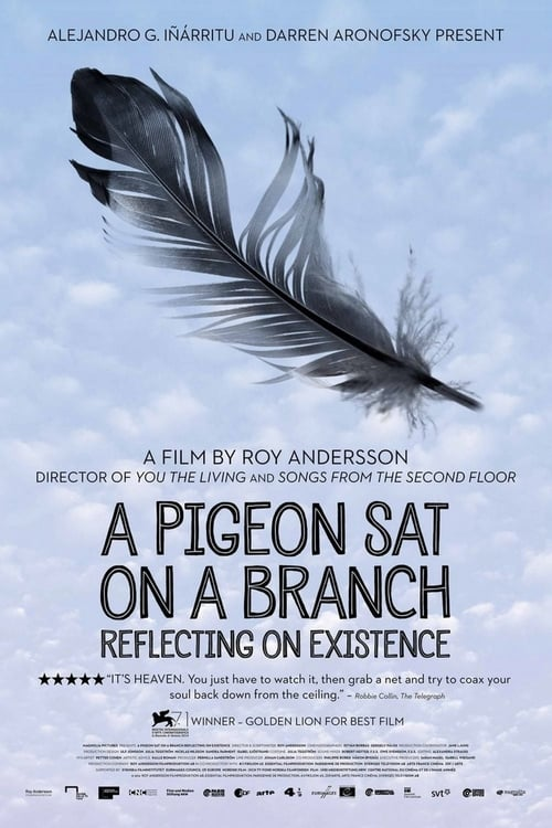 Largescale poster for A Pigeon Sat on a Branch Reflecting on Existence