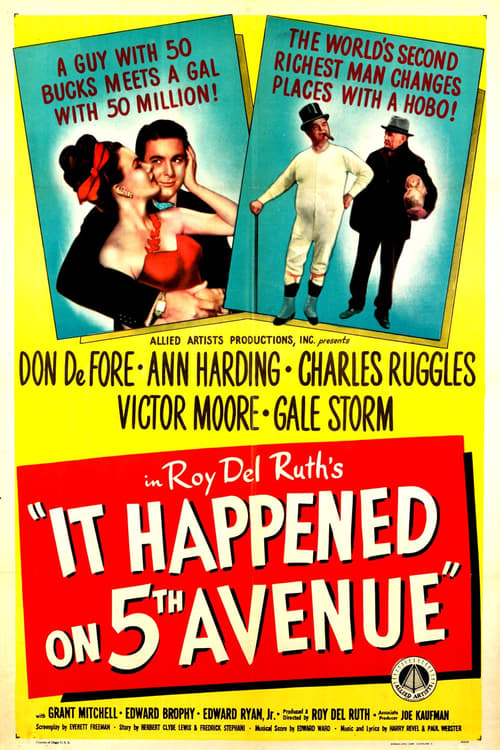 Film C'est arrivé dans la Cinquième Avenue Gratuit