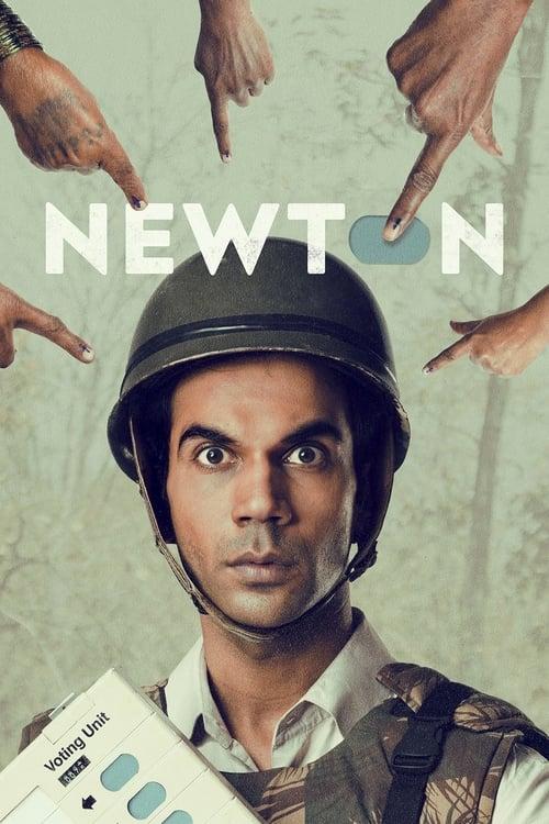 न्यूटन Affiche de film