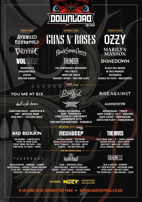 Download Festival 2018 (1970)