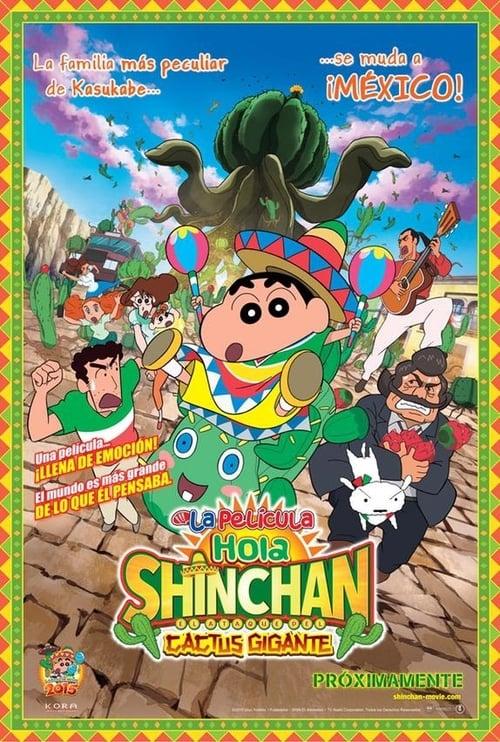 Mira La Película Shin Chan en México: El ataque del cactus gigante En Buena Calidad