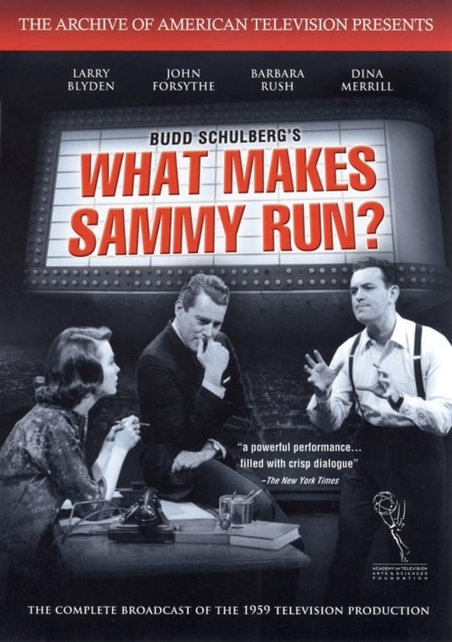 Filme What Makes Sammy Run? Em Português
