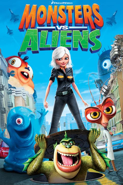 Watch Monsters vs Aliens (2009) Movie Free Online