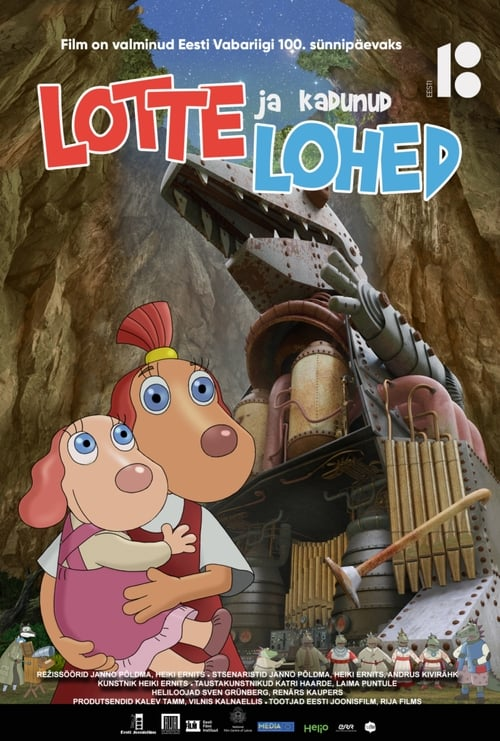 Lotte and the Lost Dragons poster