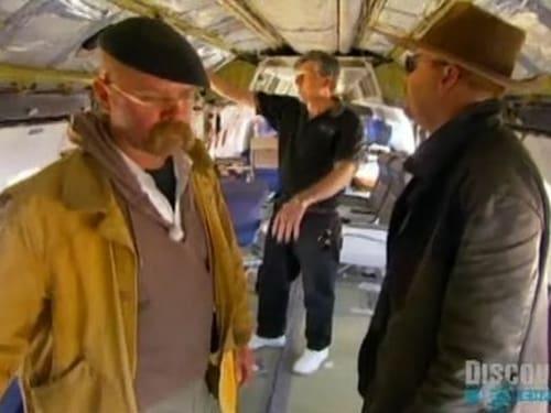 MythBusters: Season 2005 – Épisode Escape Slide Parachute