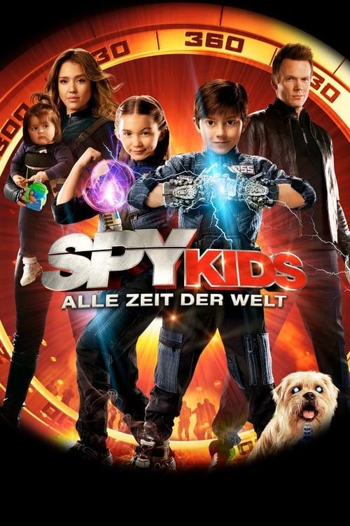 Spy Kids 4 - Alle Zeit der Welt - Poster