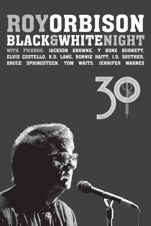 Película Roy Orbison: Black and White Night 30 Con Subtítulos En Línea