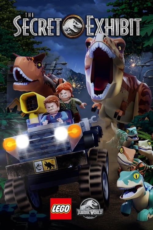 LEGO Jurassic World: The Secret Exhibit poster