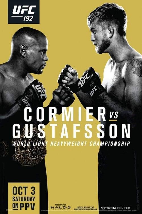 UFC 192: Cormier vs. Gustafsson (2015) Poster