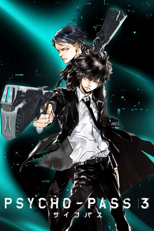 Psycho-Pass 1ª,2ª,3ª Temporada - FULL HD 1080p Legendado Completo