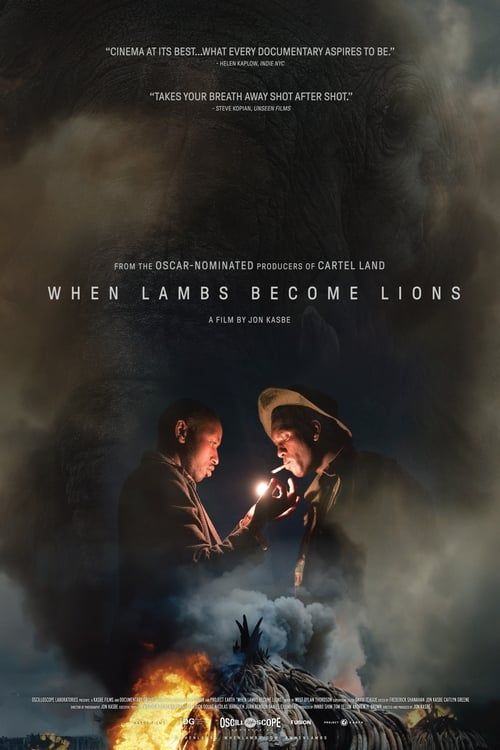 Largescale poster for When Lambs Become Lions